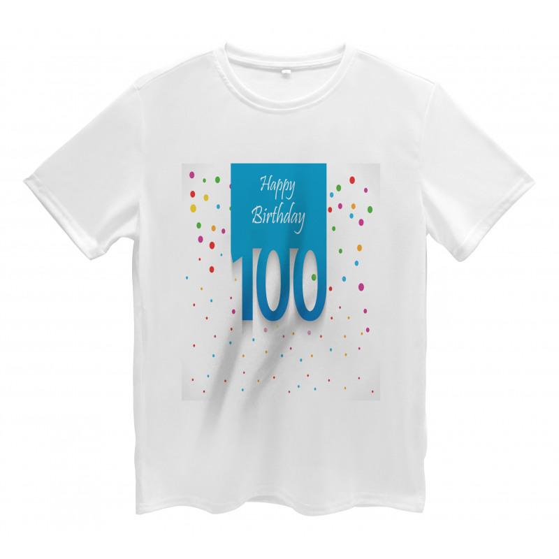 100 Years Birthday Men's T-Shirt