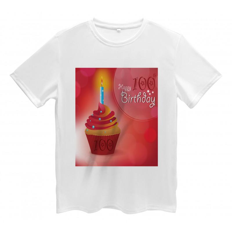 100 Old Cupcake Men's T-Shirt