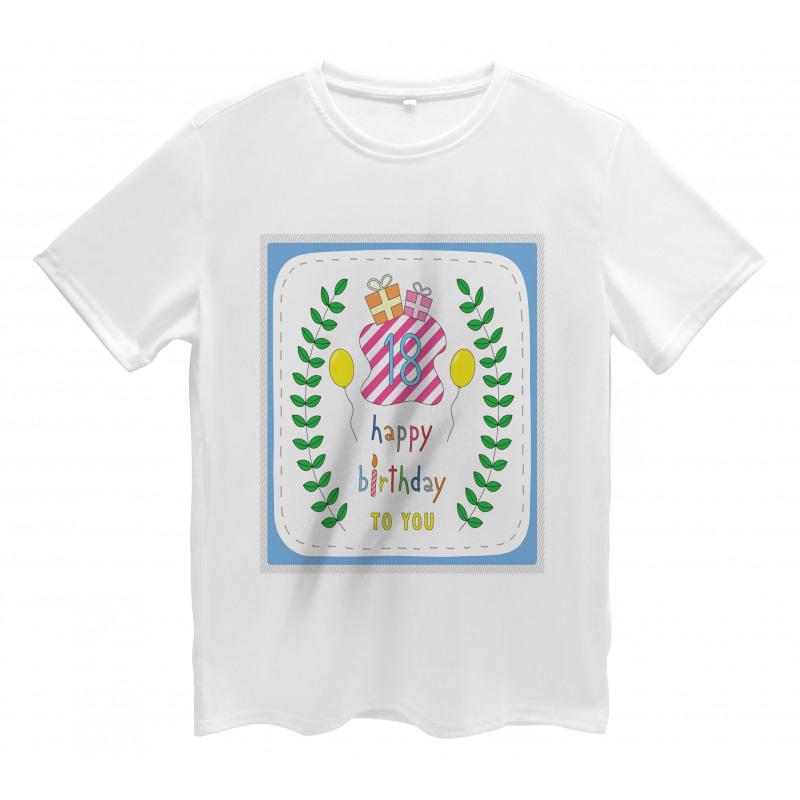 18 Birthday Men's T-Shirt