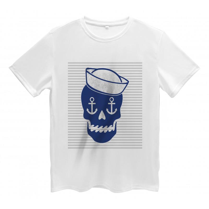 Anchor and Captains Hat Men's T-Shirt