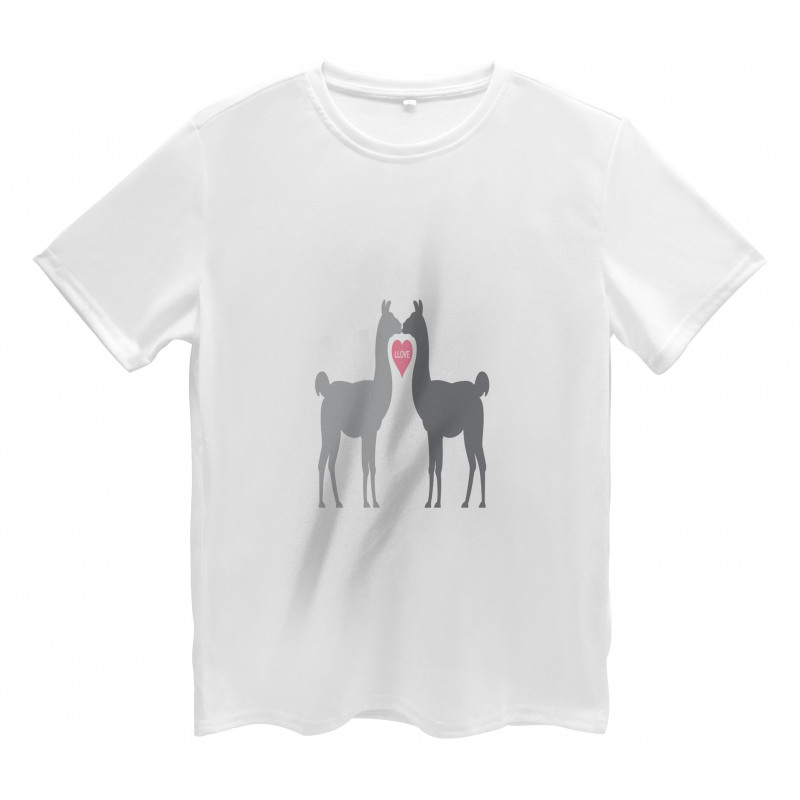 2 Animals in Love Men's T-Shirt
