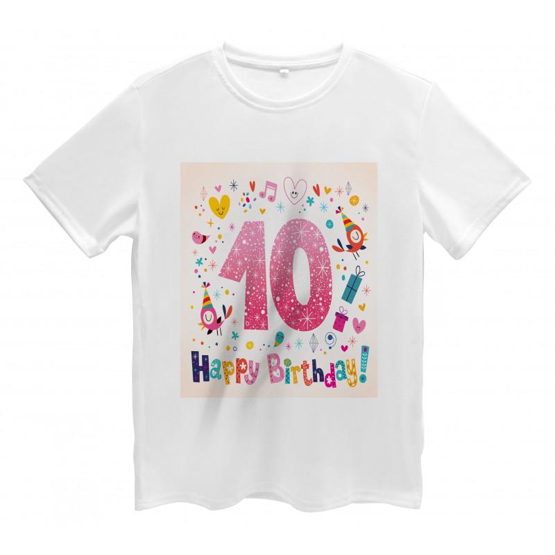 10 Years Kids Birthday Men's T-Shirt