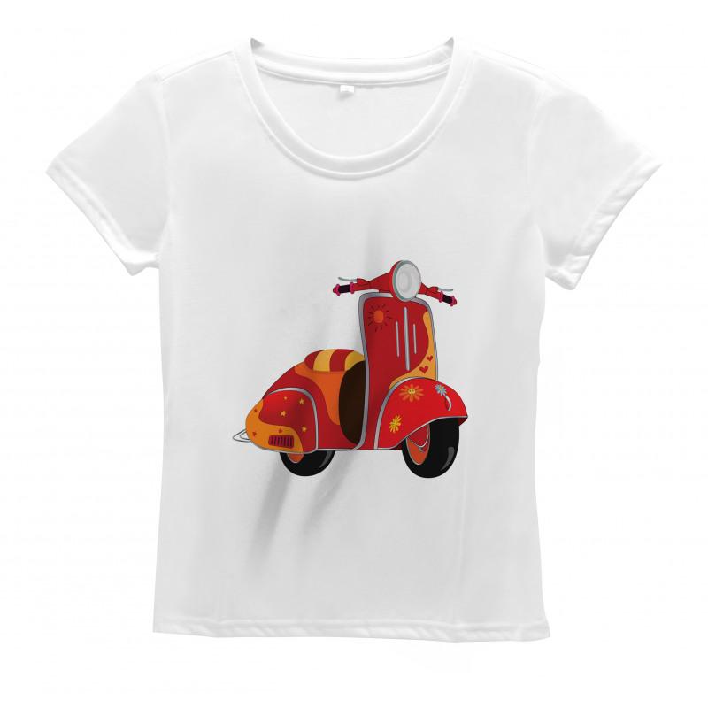 Hippie Urban Scooter Women's T-Shirt