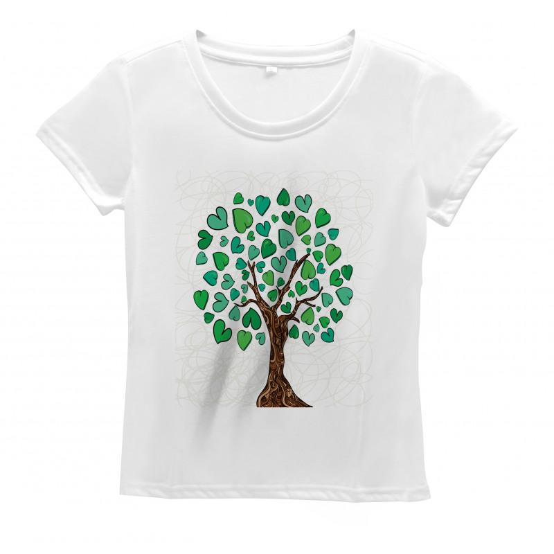Valentines Day Sketch Women's T-Shirt