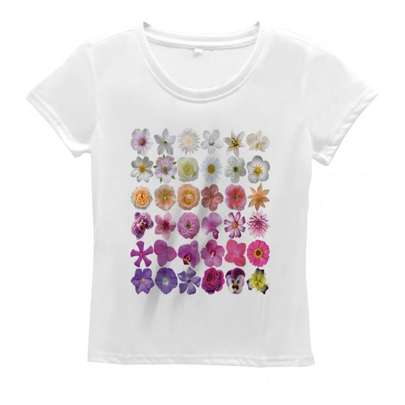 Flowers Petunia Botanic Women's T-Shirt