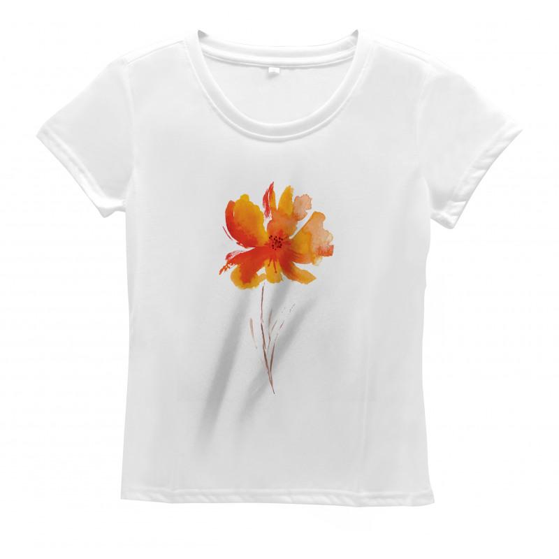 Romantic Poppy Women's T-Shirt
