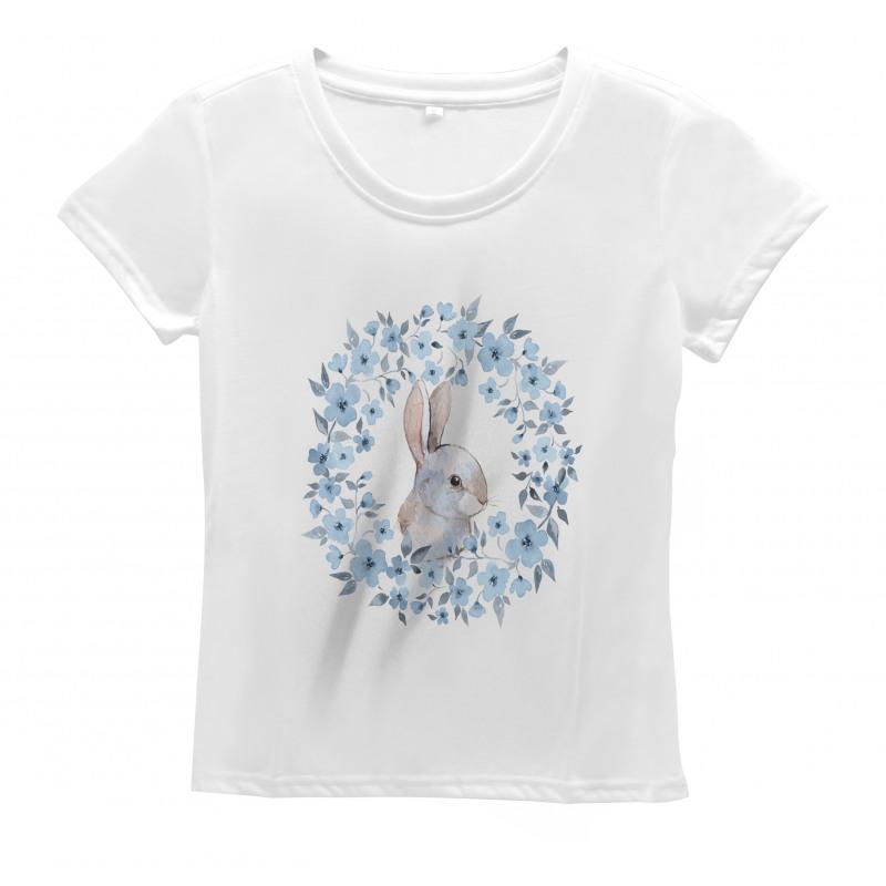 Rabbit Portrait Women's T-Shirt