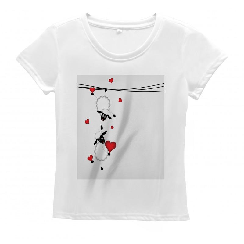 Heart Shapes in Love Women's T-Shirt