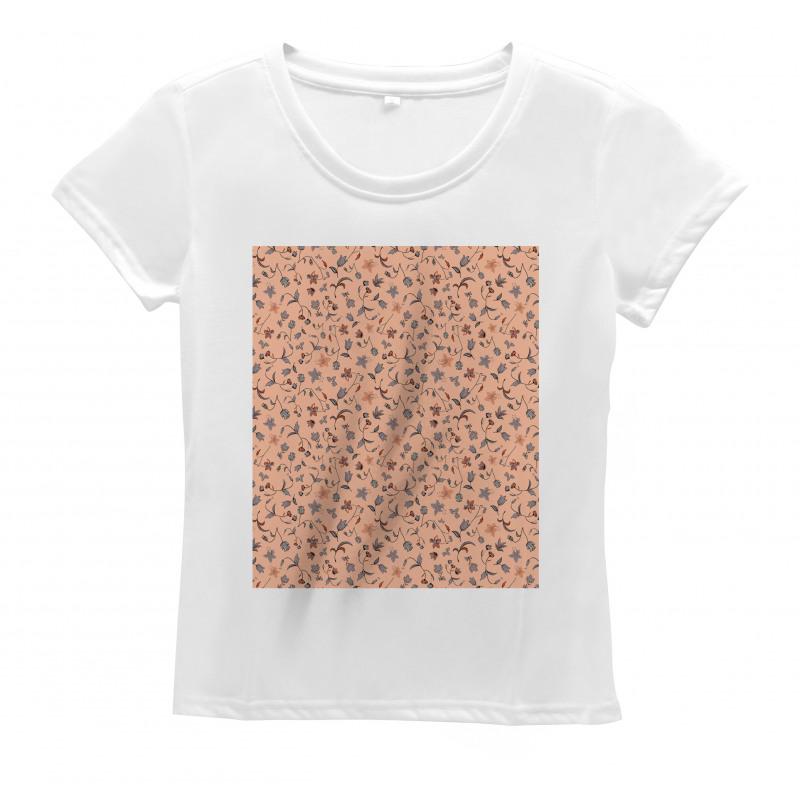 Abstract Autumn Botany Women's T-Shirt