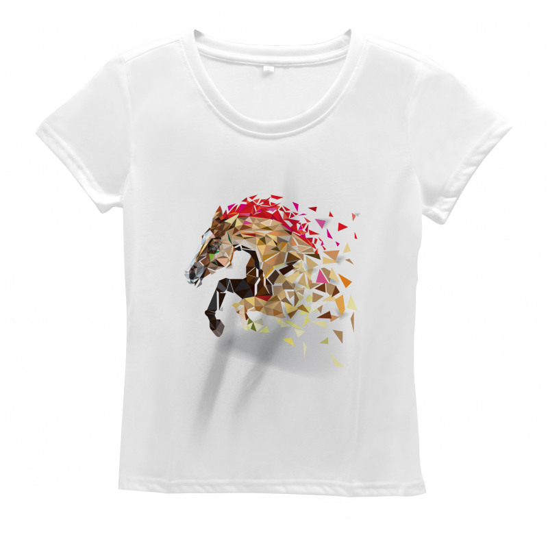 Abstract Art Wild Horse Women's T-Shirt