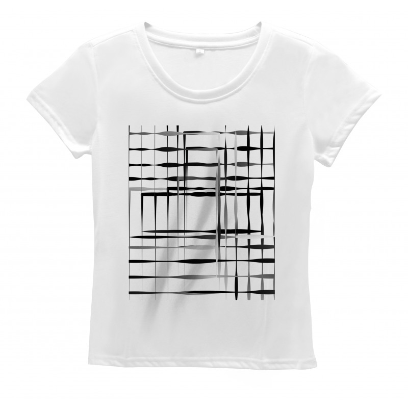 Abstract Art Geometric Women's T-Shirt