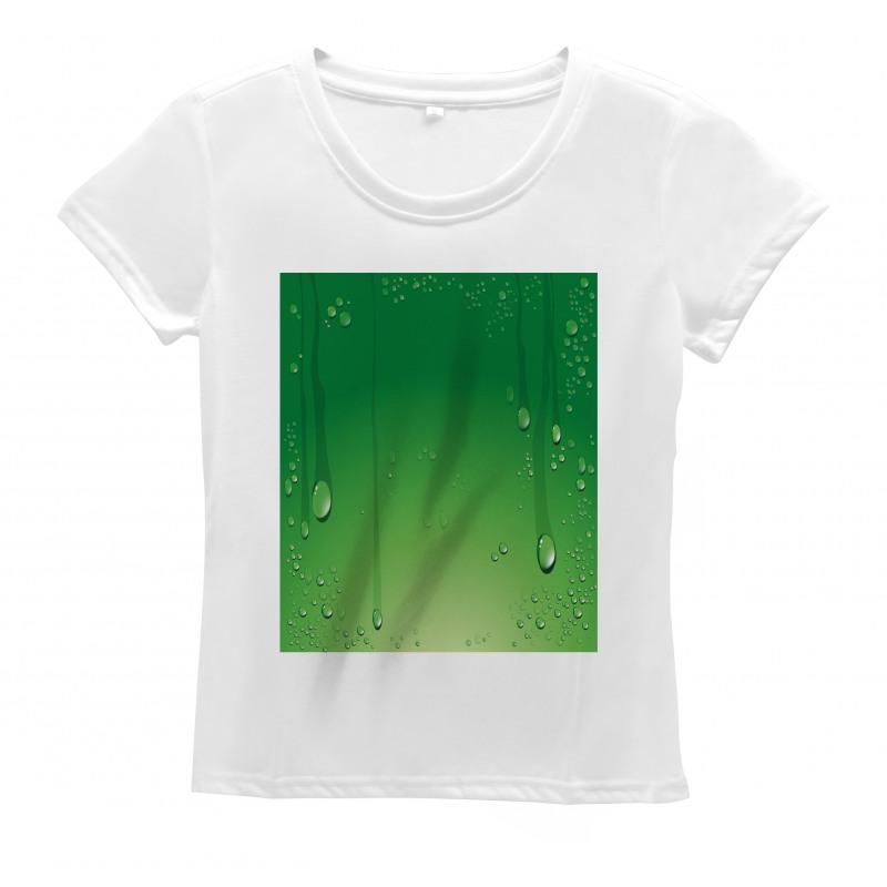 Abstract Art Water Drops Women's T-Shirt