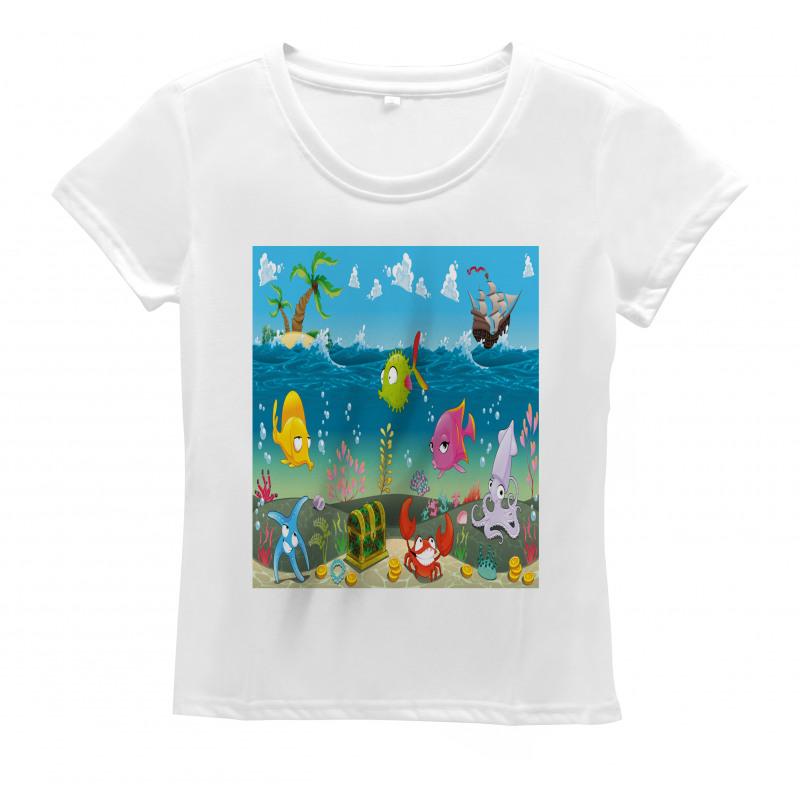 Sea Animals Underwater Women's T-Shirt