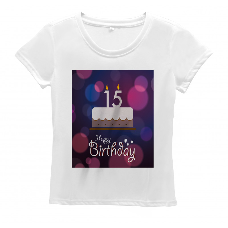 15 Birthday Cake Women's T-Shirt