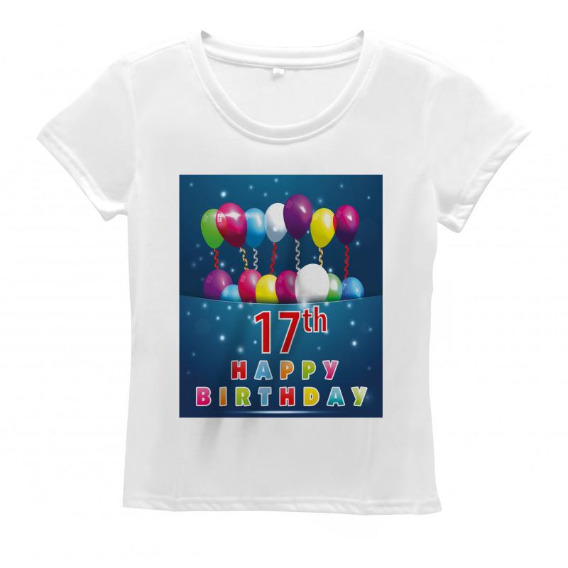 17 Birthday Women's T-Shirt