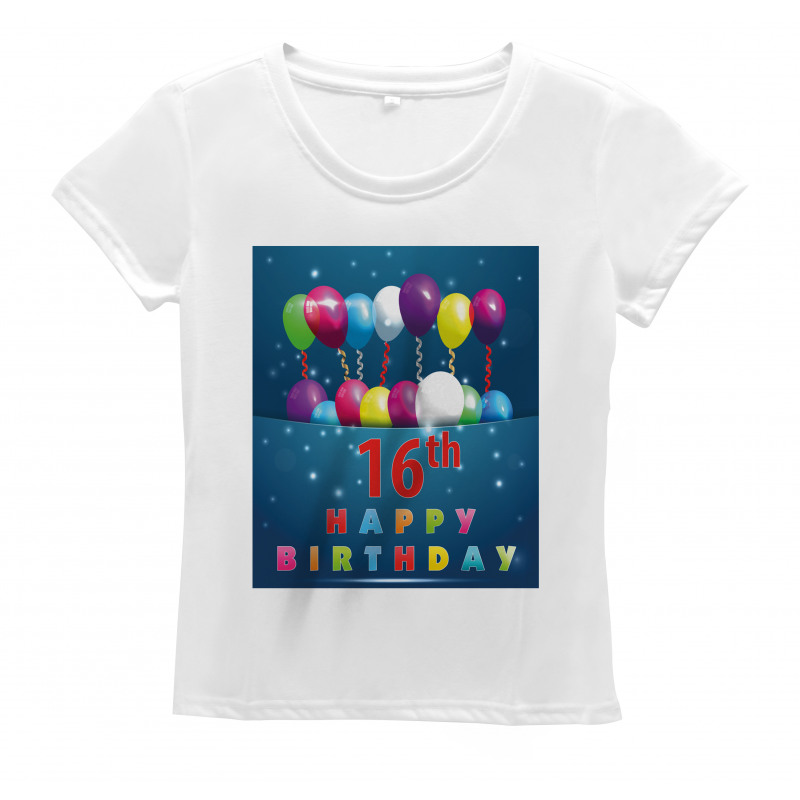 16 Party Women's T-Shirt