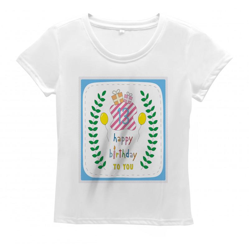 13th Birthday Gifts Women's T-Shirt