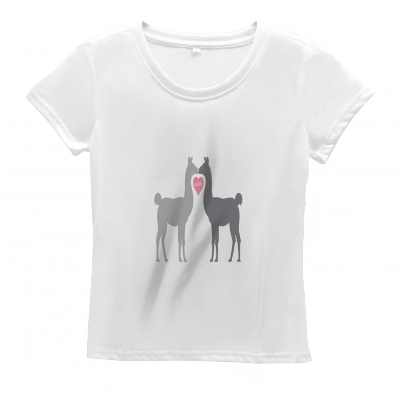 2 Animals in Love Women's T-Shirt