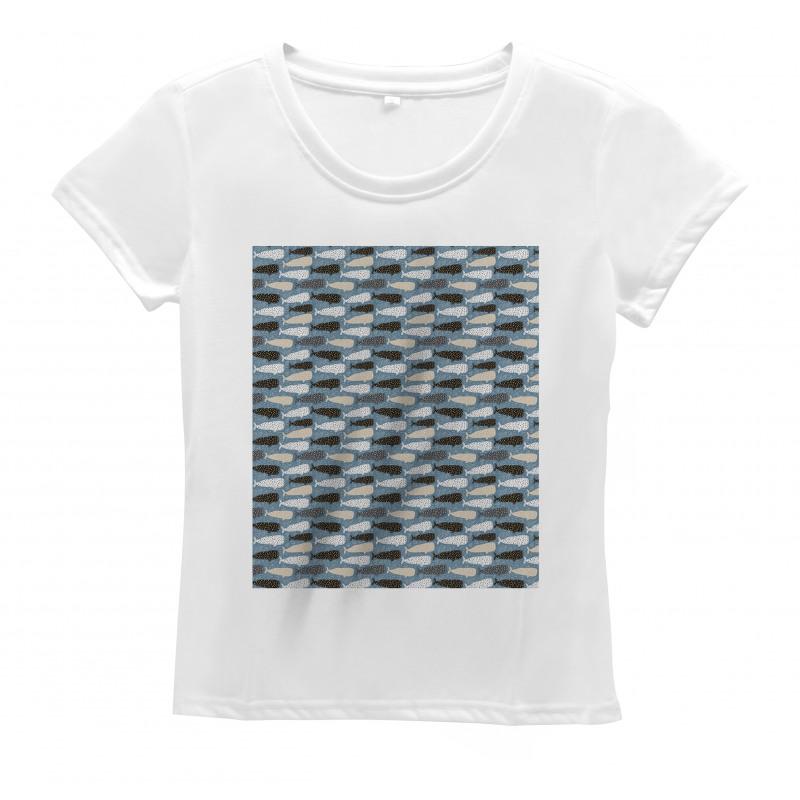 Abstract Art Silhouettes Women's T-Shirt