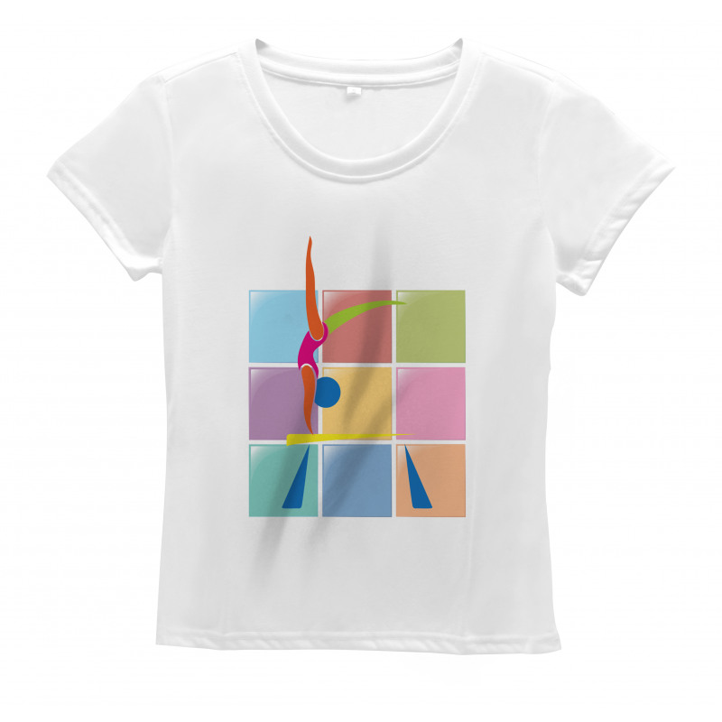 Abstract Athlete Women's T-Shirt