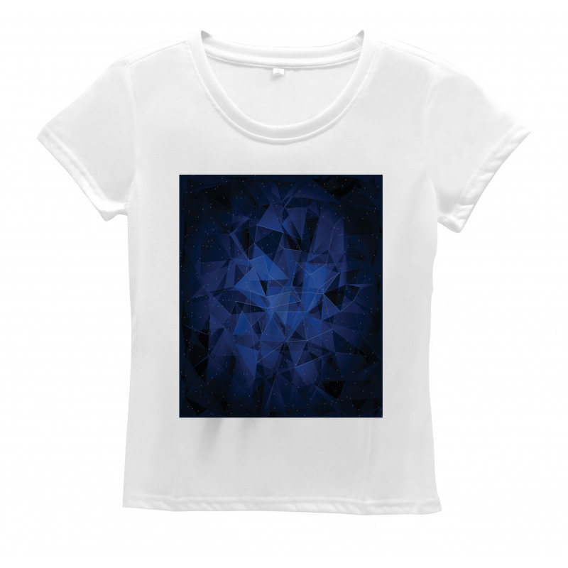 Abstract Atomic Stars Women's T-Shirt
