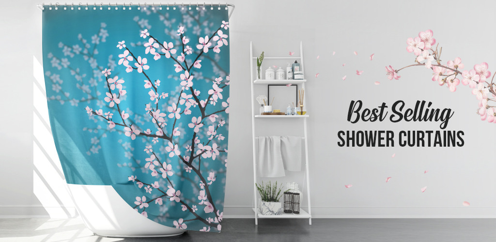 Best Sellers Shower Curtains